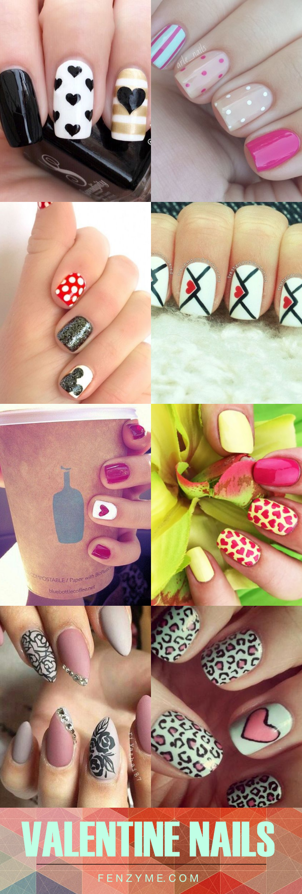 Cute Valentine Nail Art Designs1.1