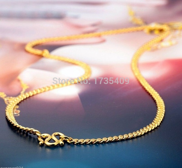 Cute and Simple Gold Necklace Designs (1)