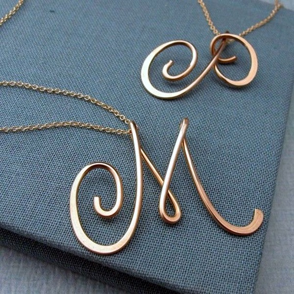 Cute and Simple Gold Necklace Designs (20)