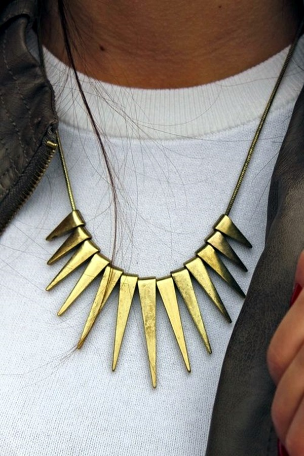 Cute and Simple Gold Necklace Designs (3)