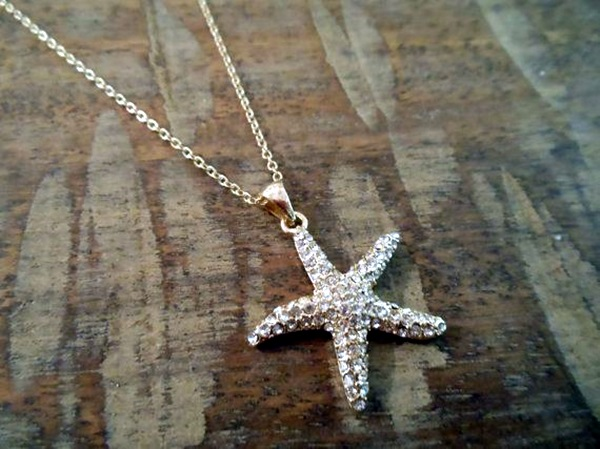 Cute and Simple Gold Necklace Designs (5)