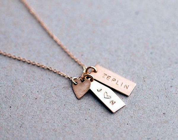 Cute and Simple Gold Necklace Designs (9)