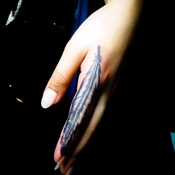 Finger Tattoo Ideas and Designs (1)