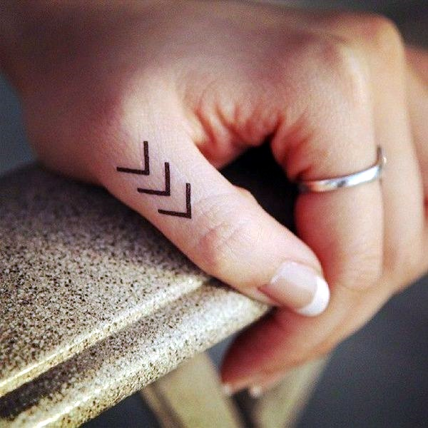 Finger Tattoo Ideas and Designs (10)