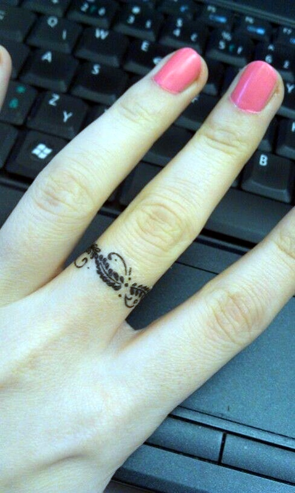 Finger Tattoo Ideas and Designs (2)