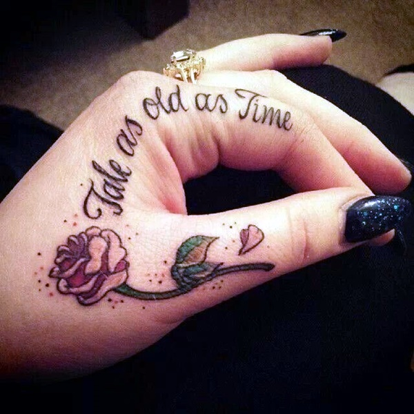 Finger Tattoo Ideas and Designs (20)