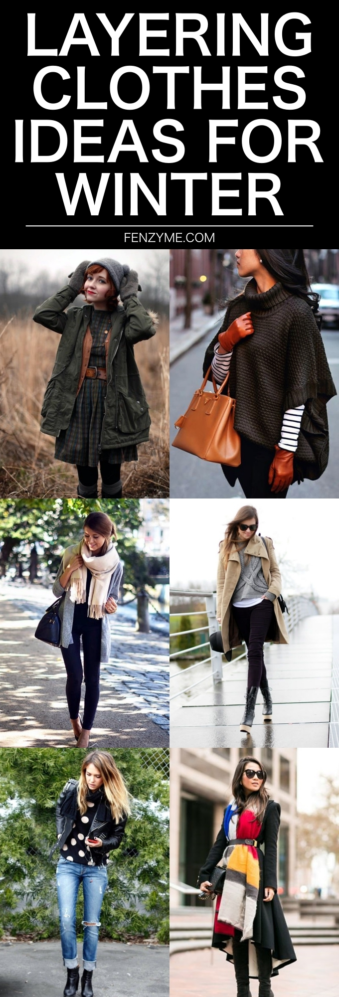 Layering Clothes Ideas for Winter