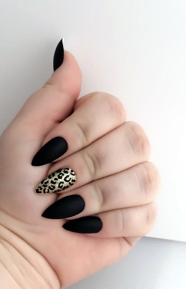 Leopard Prints Nail Art (10)
