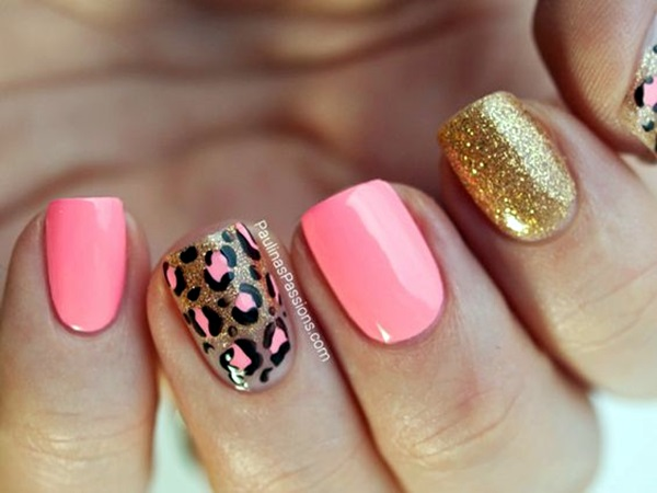 Leopard Prints Nail Art (16)