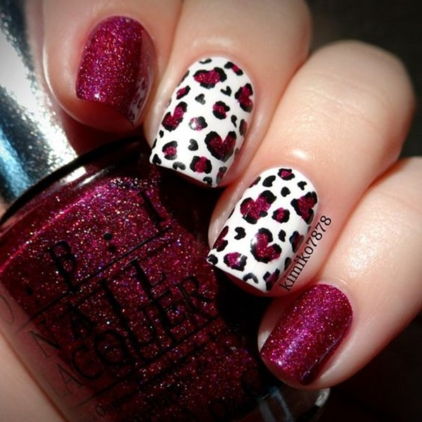Leopard Prints Nail Art (22)