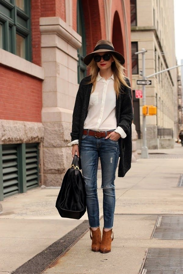 Ripped Jeans Outfit Ideas (11)