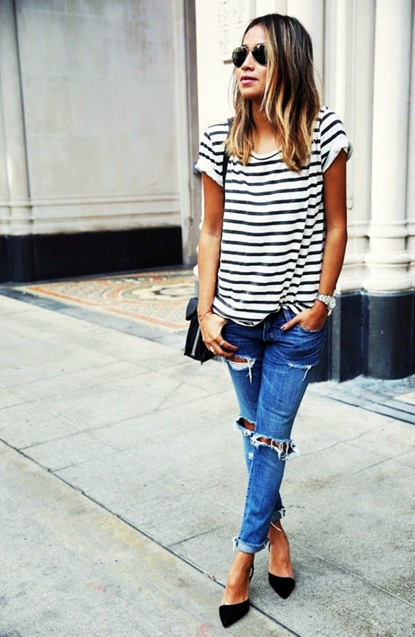 Ripped Jeans outfit ideas (27)