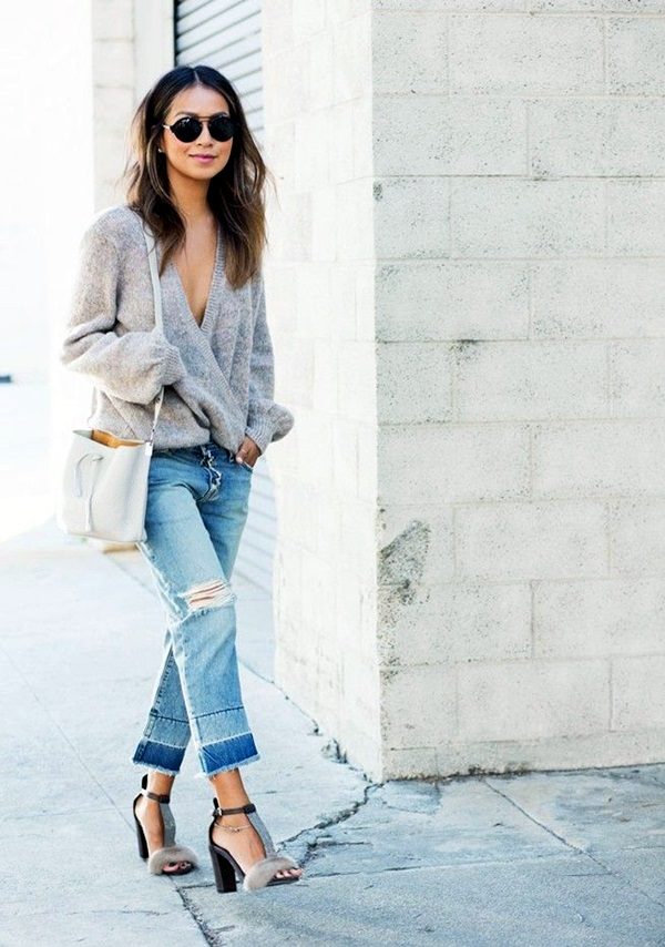 Ripped Jeans outfit ideas (30)