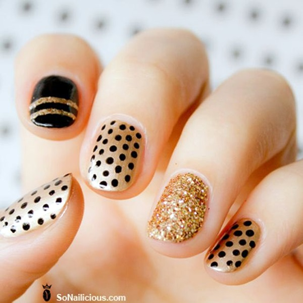 Sparkle Nails Design (1)