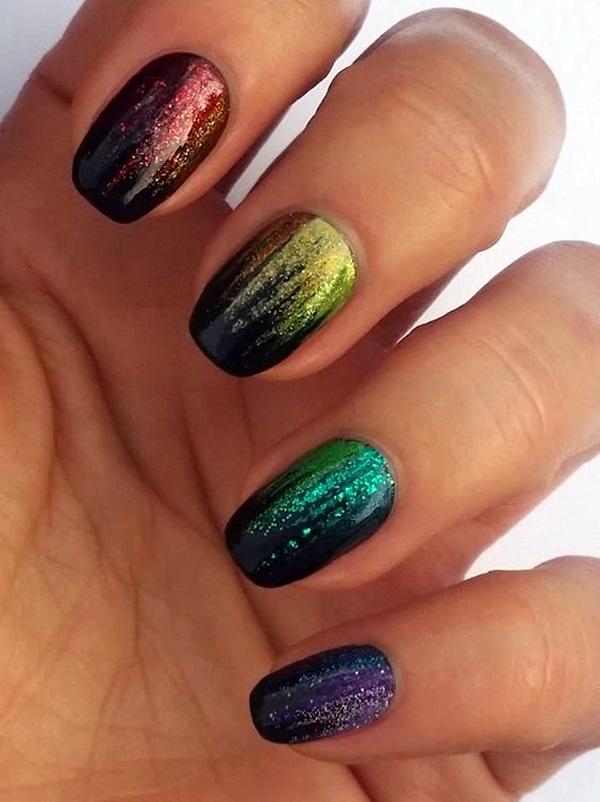 Sparkle Nails Design (3)