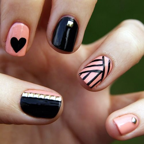 Valentine Nail Art Designs (1)