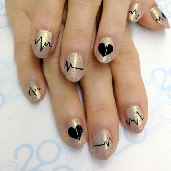 Valentine Nail Art Designs (2)