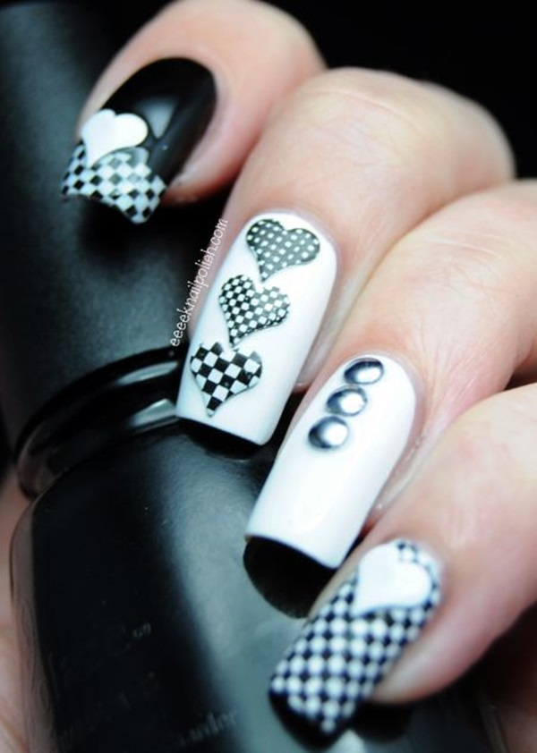 Valentine Nail Art Designs (3)
