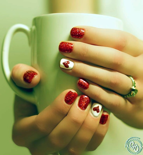Valentine Nail Art Designs (7)