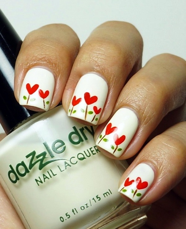 Valentine Nail Art Designs (8)