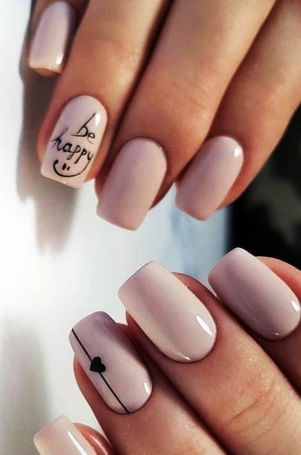 Art Designs: 70 Cute Valentine Nail Art Designs For 2019