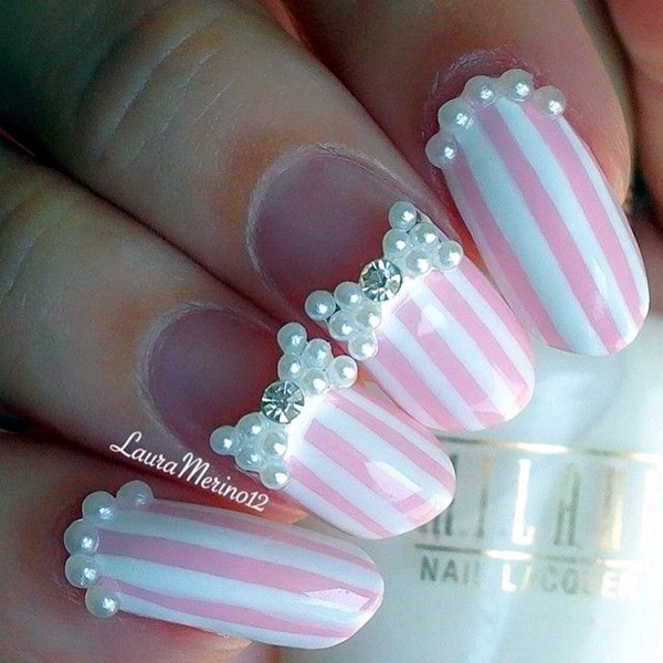 Wedding Nail Art Designs (1)