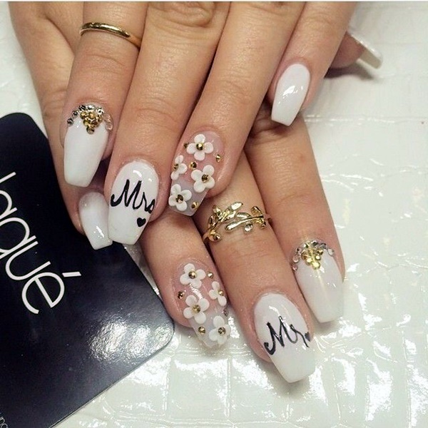 Wedding Nail Art Designs (17)
