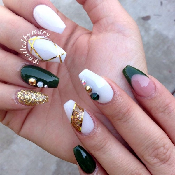 Wedding Nail Art Designs (2)
