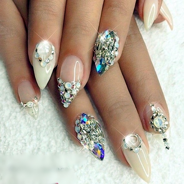Wedding Nail Art Designs (5)
