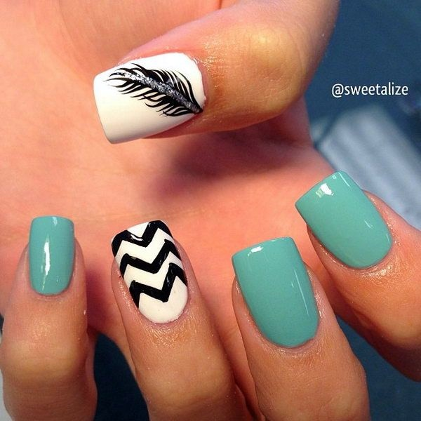 Wedding Nail Art Designs (7)