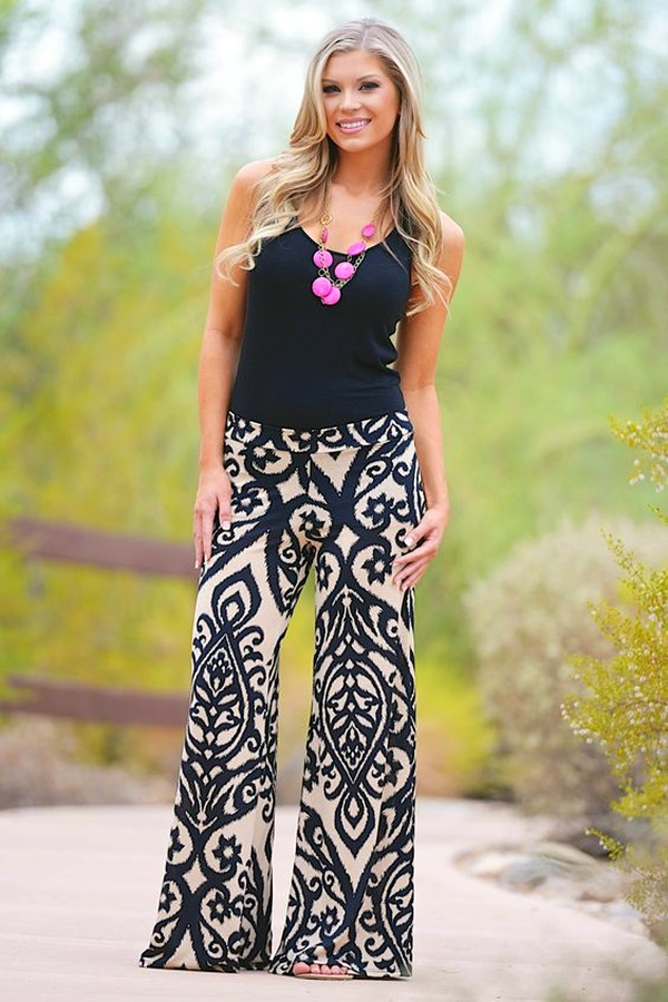 what to wear with palazzo pants chic ideas fashion enzyme