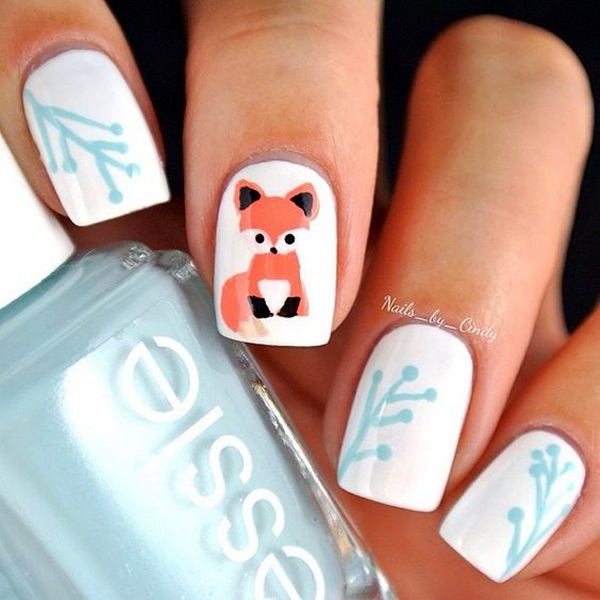 Animal Nail Art: 45 Cute Animal Nail Art Prints That're Truly Inspirational