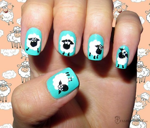 Animal Nail Art Prints (33)