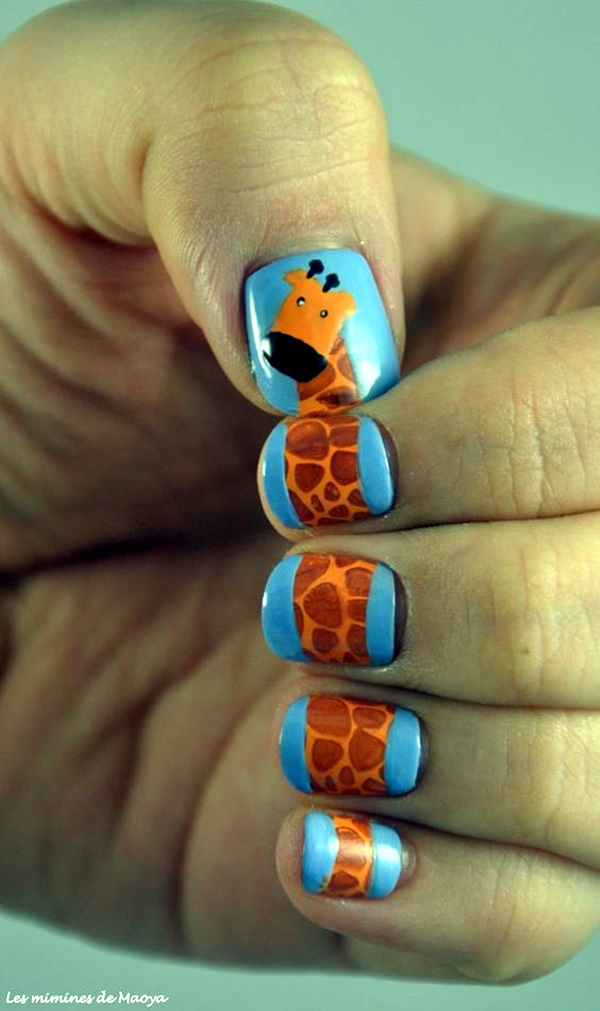 Animal Nail Art Prints (4)