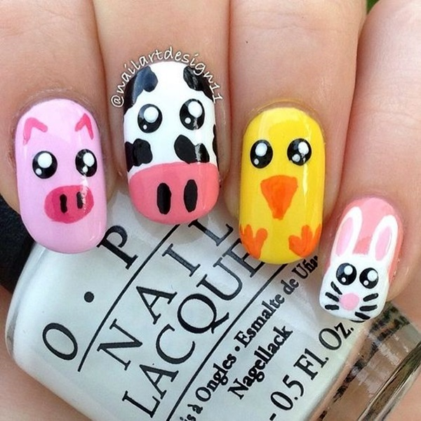 Animal Nail Art Prints (40)