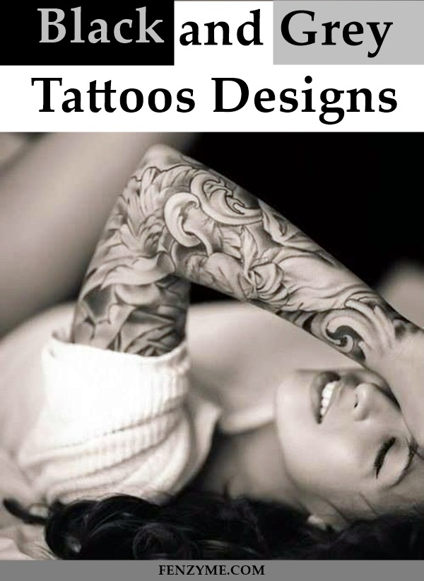 Black and Grey Tattoos Designs (1)