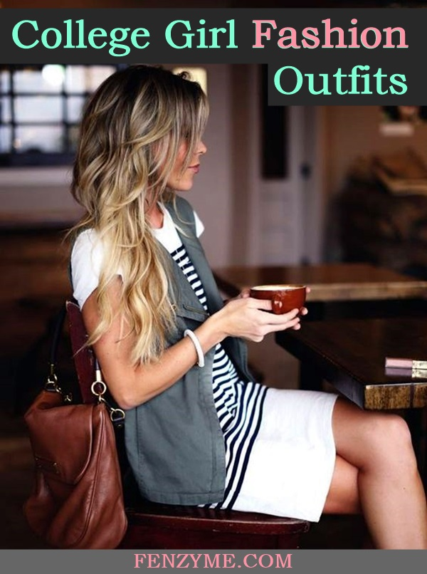 College Girl fashion Outfits (1)
