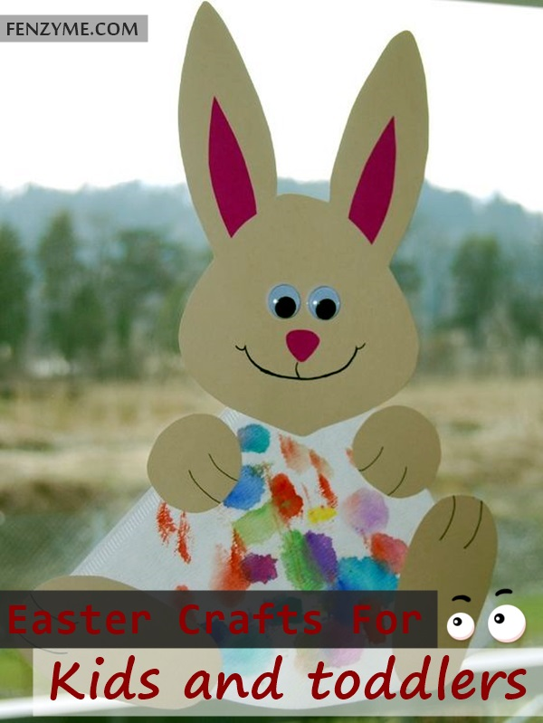 Easter Crafts for Kids and toddlers (1)