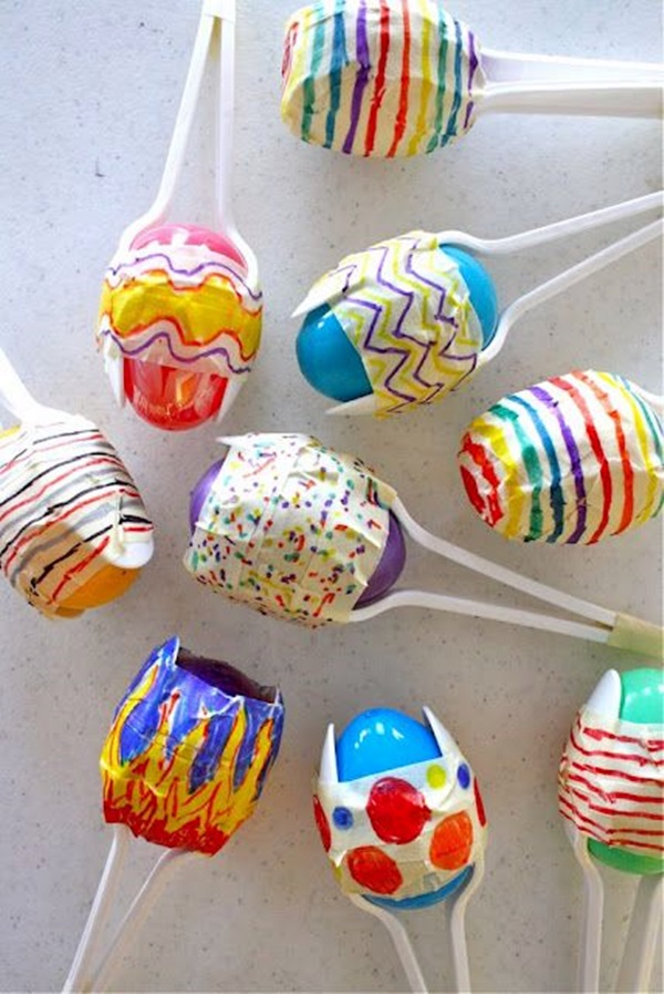 Easter Crafts for Kids and toddlers (21)