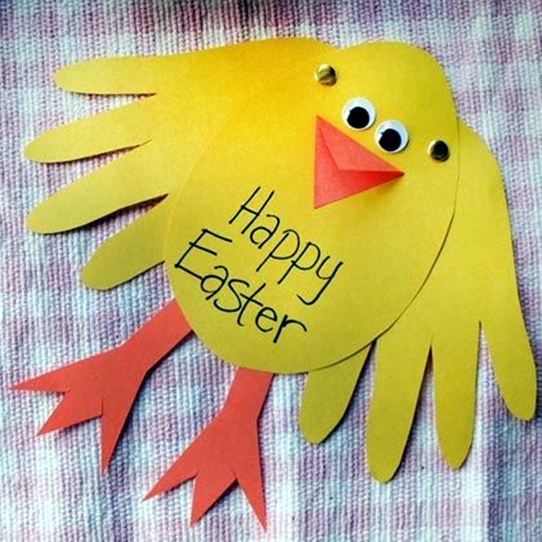 Easter Crafts for Kids and toddlers (8)