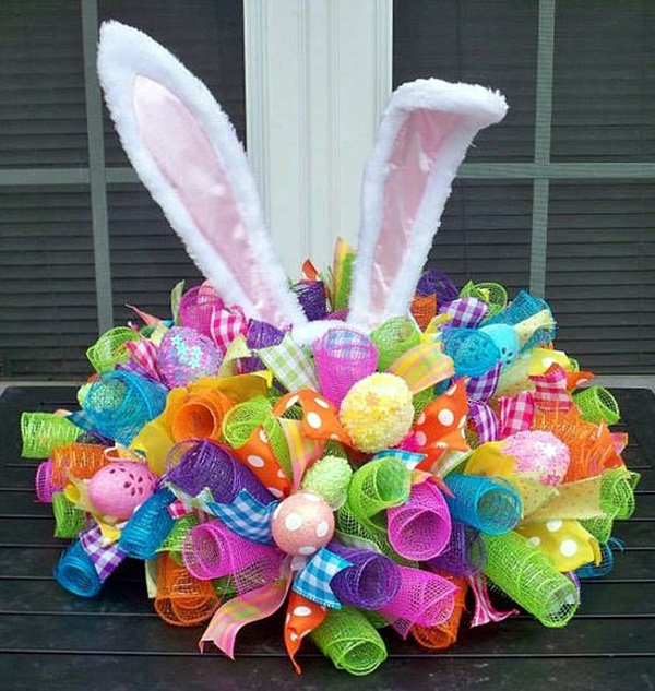 45 simple easter decorations ideas to try this time - How to make easter decorations ...