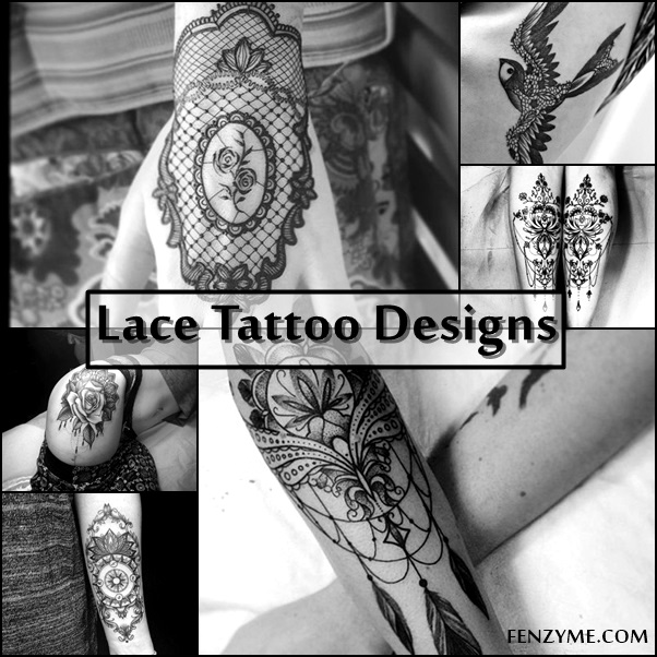 Lace Tattoo Designs (1)
