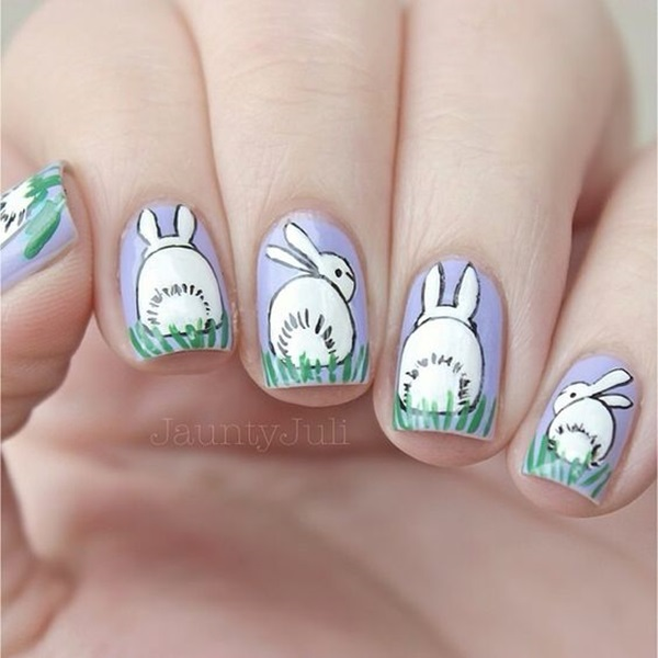 Easter Nails Art Designs (11)