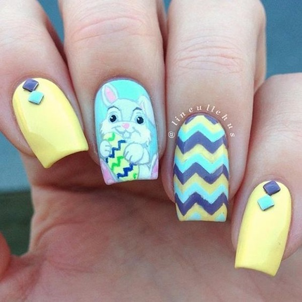 Easter Nails Art Designs (15)