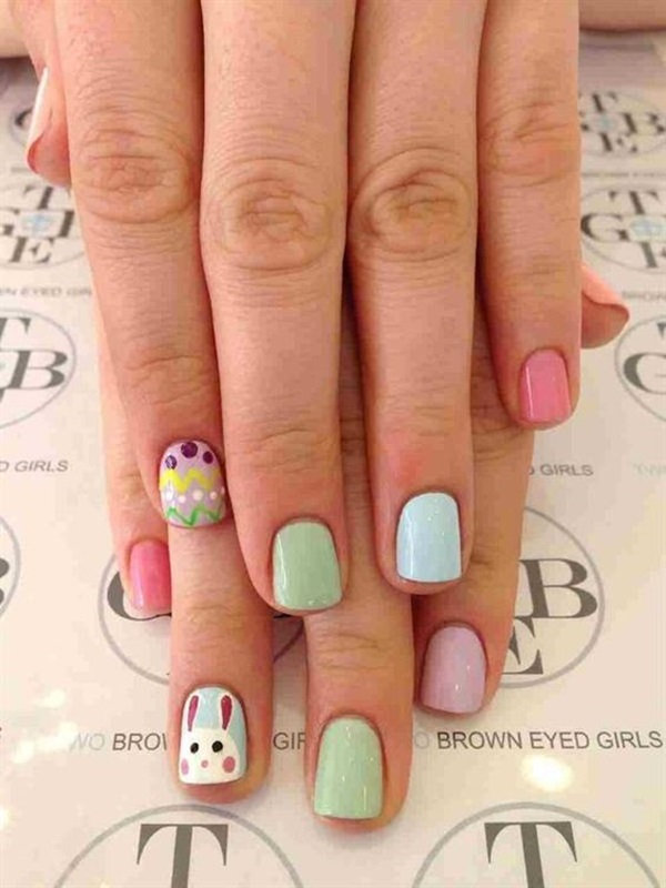 Easter Nails Art Designs (16)