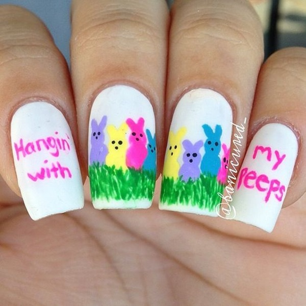 Easter Nails Art Designs (7)