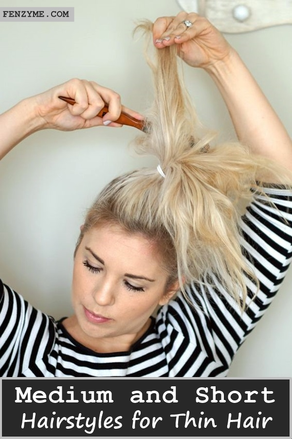 Medium and Short Hairstyles for Thin Hair (1)