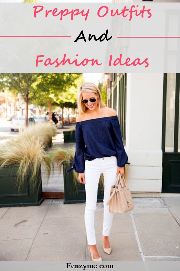 Preppy Outfits and Fashion Ideas (1)