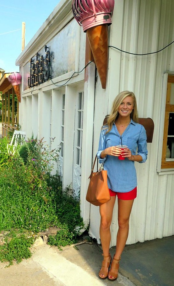 Preppy Outfits and Fashion Ideas (19)