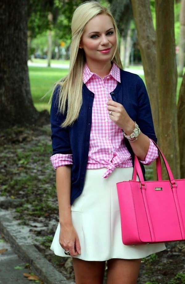 Preppy Outfits and Fashion Ideas (27)